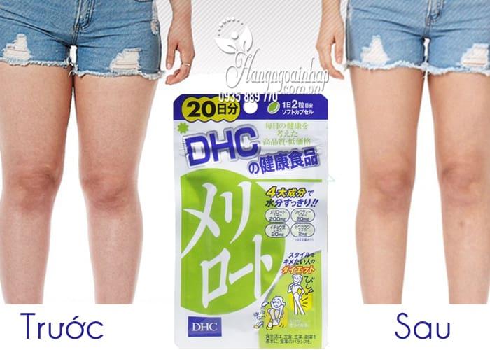 Viên uống thon gọn đùi DHC 20 ngày nội địa Nhật Bản 4