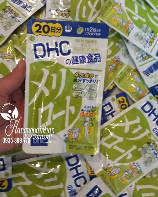 Viên uống thon gọn đùi DHC 20 ngày nội địa Nhật Bản 6
