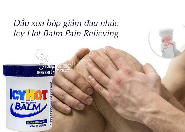 Dầu xoa bóp giảm đau nhức Icy Hot Balm Pain Relieving của Mỹ 2