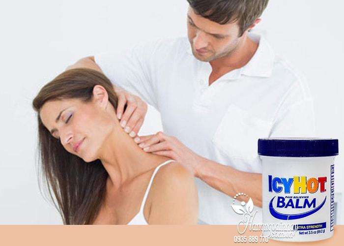 Dầu xoa bóp giảm đau nhức Icy Hot Balm Pain Relieving của Mỹ 3