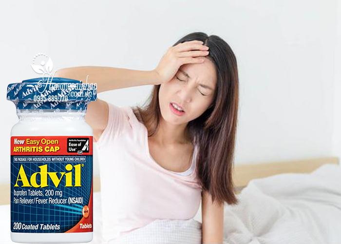 Thuốc giảm đau Advil 200mg Easy Open Arthritis Cap 200 viên mẫu mới 3