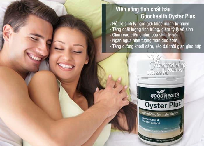 Viên uống tinh chất hàu Goodhealth Oyster Plus 30 viên 4