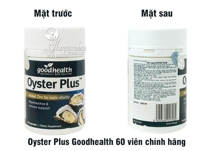 Oyster Plus Goodhealth Tăng Sinh Lý Nam Giới - Hộp 60 Viên 4