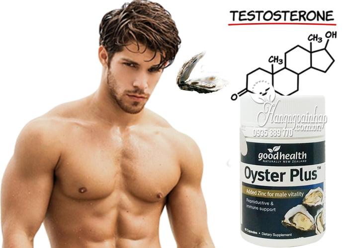 Oyster Plus Goodhealth Tăng Sinh Lý Nam Giới - Hộp 60 Viên 2