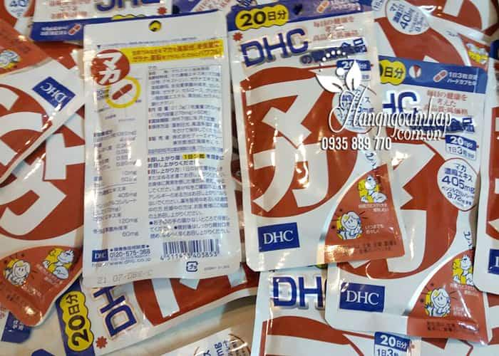 Viên uống Maca DHC 20 ngày của Nhật - Hỗ trợ sinh lý nam nữ 2