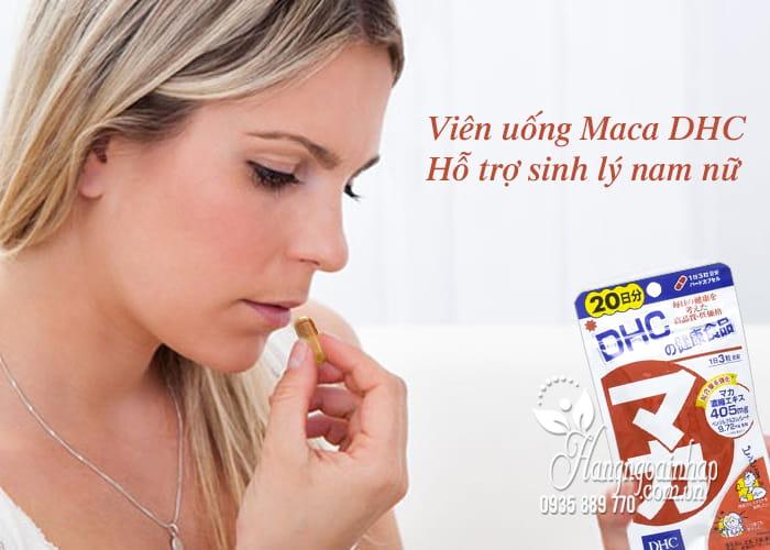 Viên uống Maca DHC 20 ngày của Nhật - Hỗ trợ sinh lý nam nữ 1