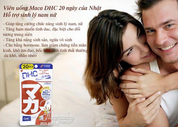 Viên uống Maca DHC 20 ngày của Nhật - Hỗ trợ sinh lý nam nữ 3