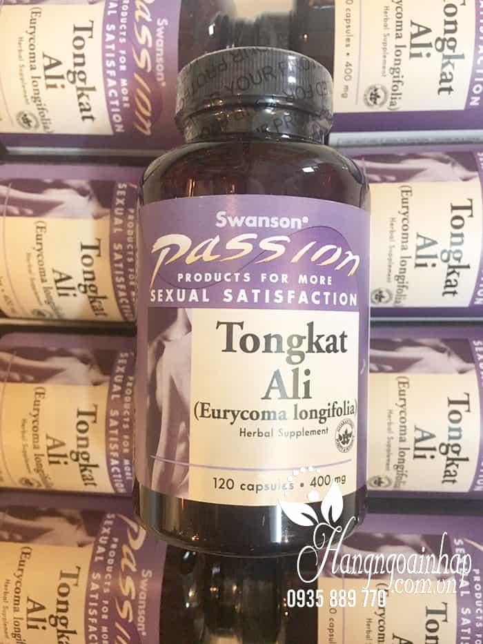Viên uống Tongkat Ali Swanson Passion 400mg hộp 120 viên chụp tại Hangngoainhap.com.vn