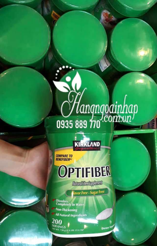 Bột hòa tan bổ sung chất xơ Kirkland Optifiber 200 khẩu phần 6