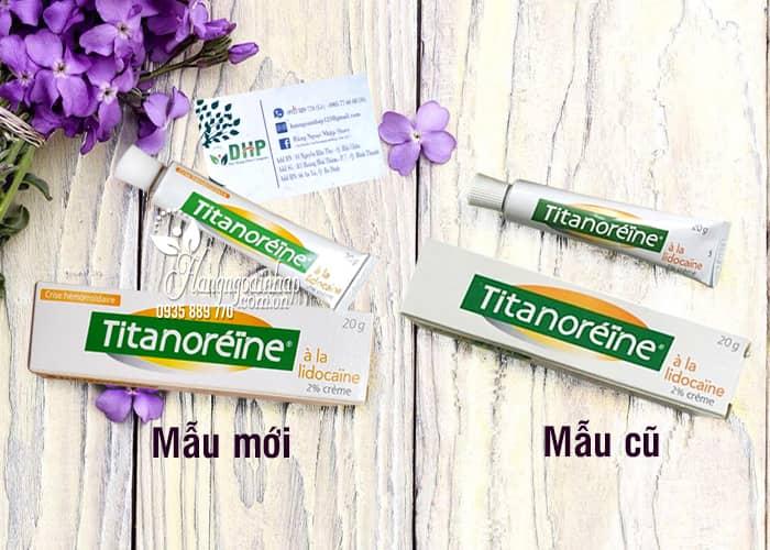 Kem Bôi Trị Bệnh Trĩ Ngoại Titanoreine Của Pháp 20g Hiệu Quả 1