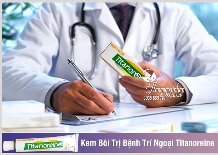Kem Bôi Trị Bệnh Trĩ Ngoại Titanoreine Của Pháp 20g Hiệu Quả 2