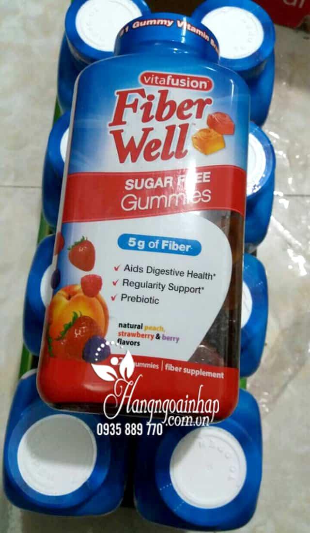 Kẹo dẻo bổ sung chất xơ Vitafusion Fiber Well Gummies 220v 4