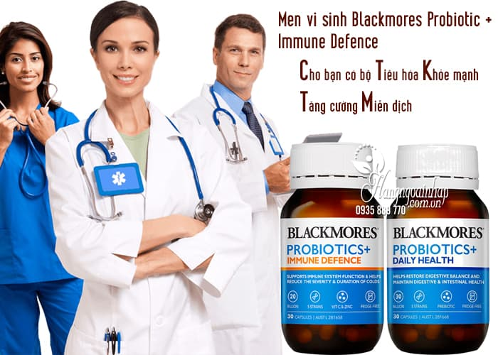 Men vi sinh Blackmores Probiotic + Immune Defence 30 viên 1