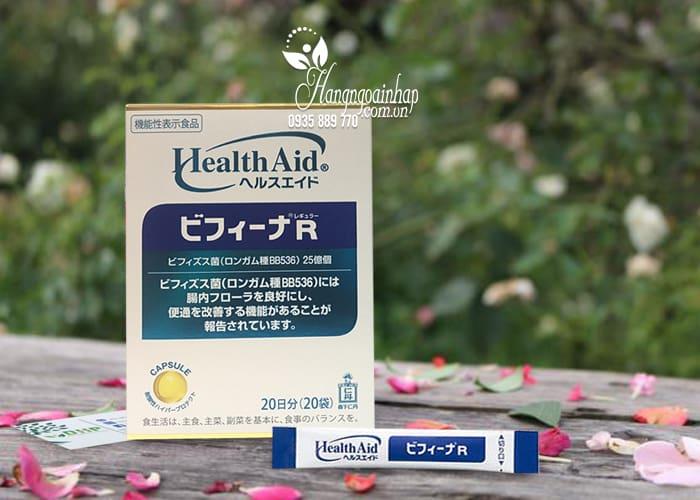 Men vi sinh Health Aid Bifina R 20 gói - Hỗ trợ tiêu hóa 1