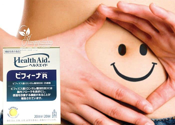 Men vi sinh Health Aid Bifina R 20 gói - Hỗ trợ tiêu hóa 3