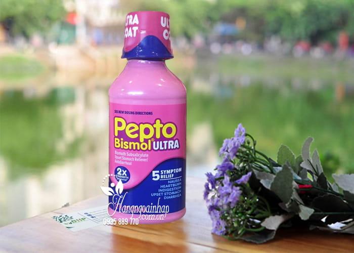 Siro chuyên trị tiêu hóa, dạ dày Pepto Bismol Ultra 354ml 1
