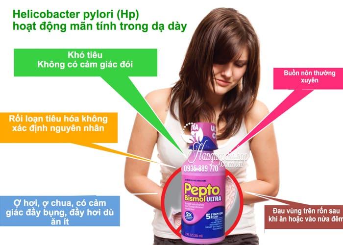 Siro chuyên trị tiêu hóa, dạ dày Pepto Bismol Ultra 354ml 4