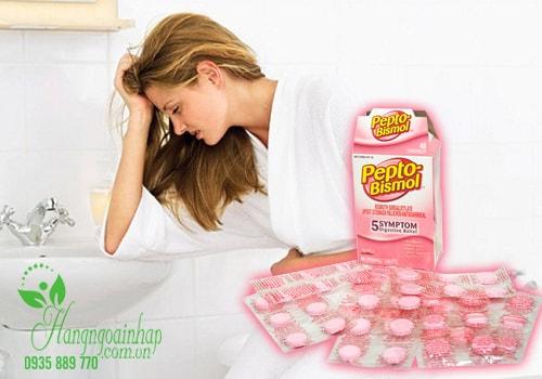 Thuốc chuyên trị tiêu hóa dạ dày Pepto Bismol 48 viên của Mỹ