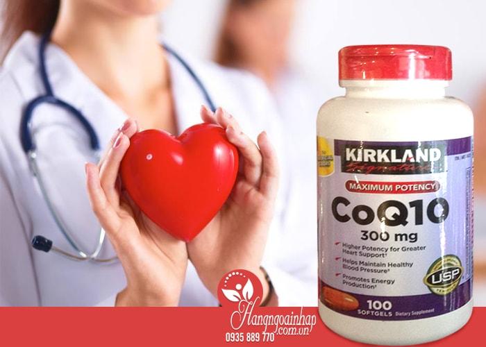 Kirkland CoQ10 300 mg 100 viên cung cấp vitamin cần thiết cho tim mạch