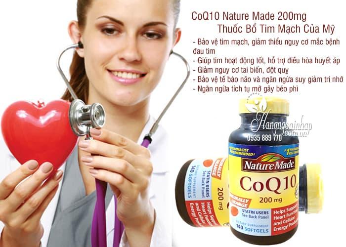 CoQ10 Nature Made 200mg - Thuốc Bổ Tim Mạch Của Mỹ 11