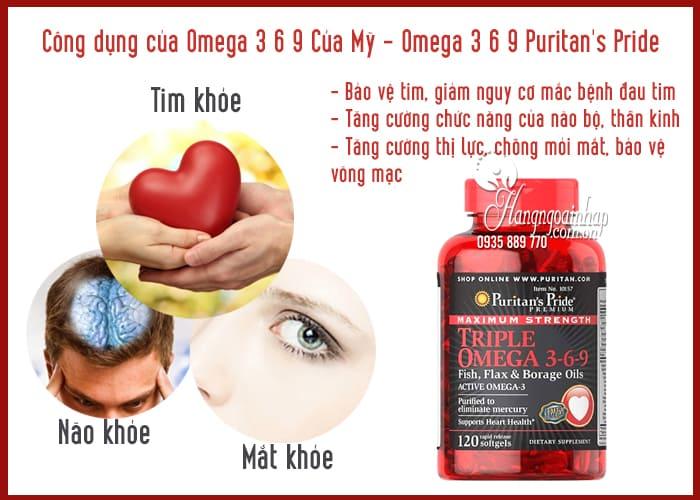 Omega 3 6 9 Của Mỹ - Omega 3 6 9 Puritan's Pride 120 Viên 3