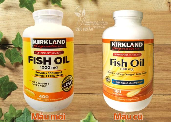 Omega 3 Của Mỹ - Omega 3 Fish Oil 1000mg Kirkland