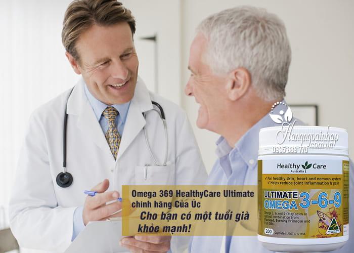 Omega 369 HealthyCare Ultimate Hộp 200 Viên chính hãng Của Úc 3