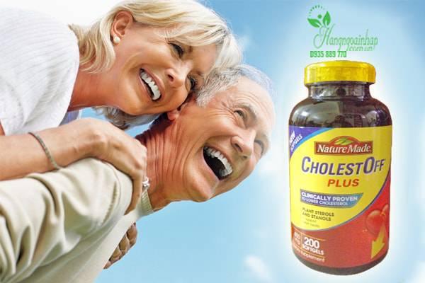 Thuốc giảm Cholesterol Nature Made CholestOff Plus 200 viên của Mỹ