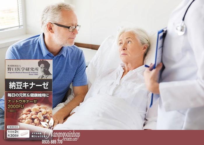 Viên uống chống đột quỵ Nattokinase 3000FU Noguchi 60 viên