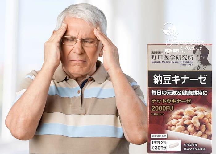 Viên uống chống đột quỵ Nattokinase 3000FU Noguchi 60 viên 3