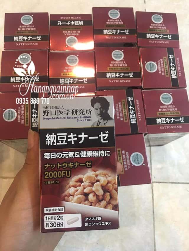 Viên uống chống đột quỵ Nattokinase 3000FU Noguchi 60 viên 5