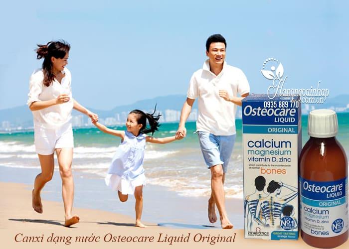Canxi dạng nước Osteocare Liquid Original 200ml của Anh 2