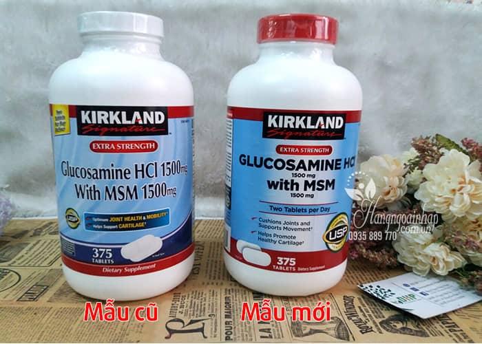 Glucosamine 375 Viên HCL 1500mg Kirkland Của Mỹ mẫu mới 2018