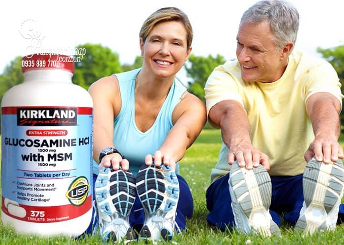 Glucosamine 375 Viên HCL 1500mg Kirkland Hỗ Trợ Xương Khớp Của Mỹ