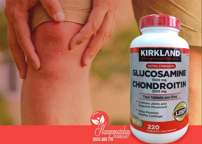 Glucosamine Chondroitin Sulfate Kirkland 220 Viên - Thuốc Khớp Của Mỹ