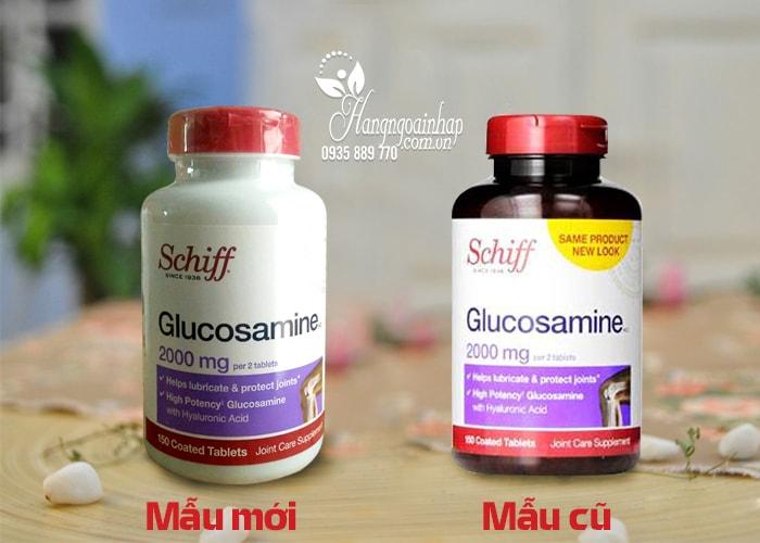 Glucosamine Schiff 2000mg hộp 150 viên của Mỹ - Tốt cho xương khớp