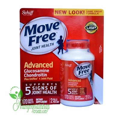 Move Free Advanced Schiff 170 viên Hổ trợ Điều trị đau khớp
