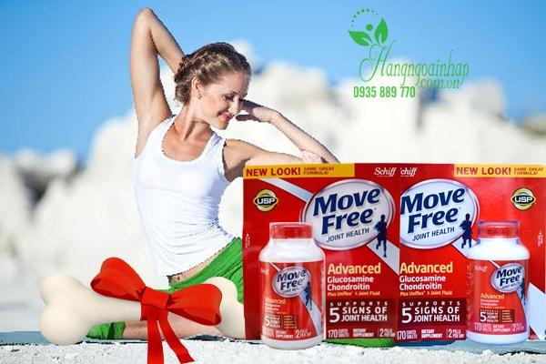 Hổ trợ Điều trị đau khớp-Move Free Advanced Schiff 170 viên