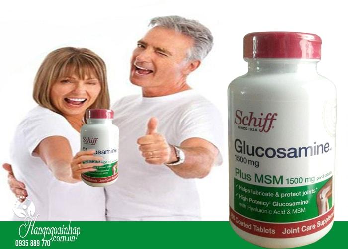 Schiff Glucosamine Plus MSM 1500mg hộp 150 viên của Mỹ