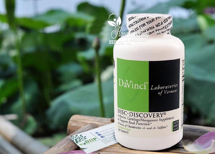 Viên uống Davinci Disc-Discovery điều trị thoát vị đĩa đệm 1