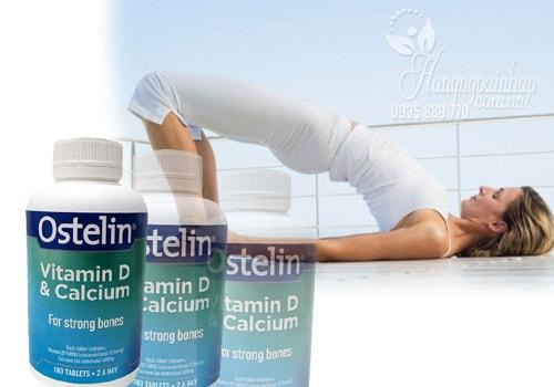 Viên uống bổ sung Vitamin D và Calcium Ostelin 180 viên của Úc