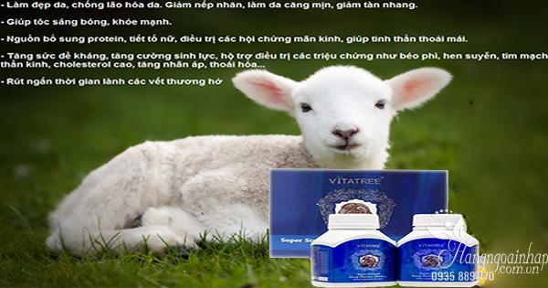 Nhau thai cừu Vitatree có tốt không