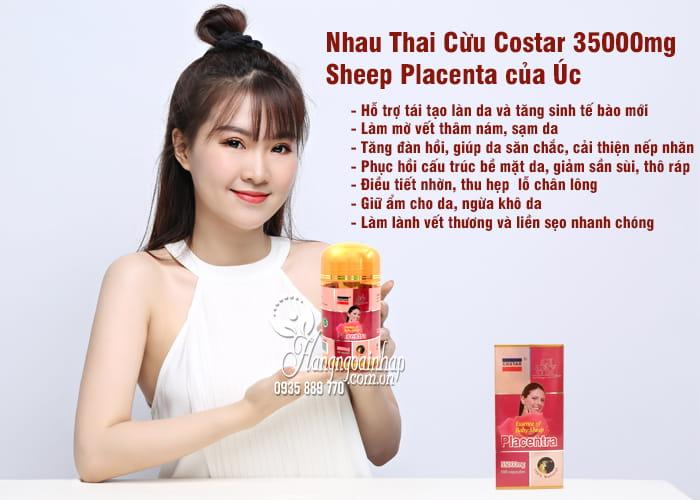 Nhau Thai Cừu Costar 35000mg - Sheep Placenta của Úc 4