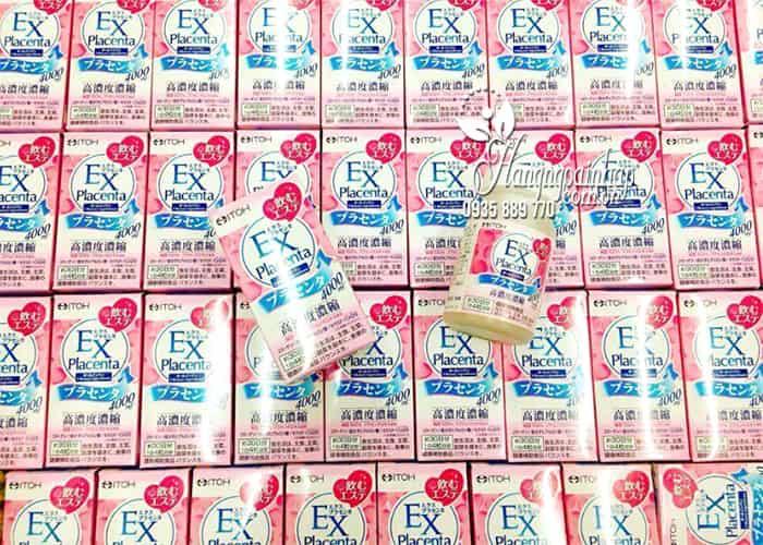 Viên uống nhau thai cừu EX Placenta Itoh 4000mg Nhật Bản 1