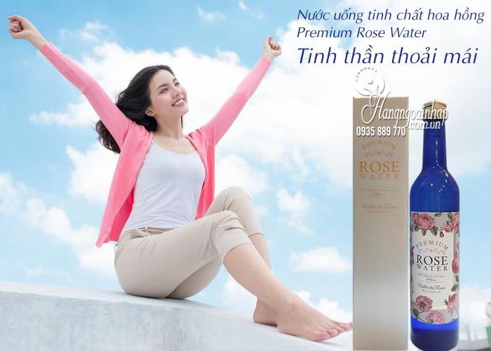 Nước uống tinh chất hoa hồng Premium Rose Water 500ml 1