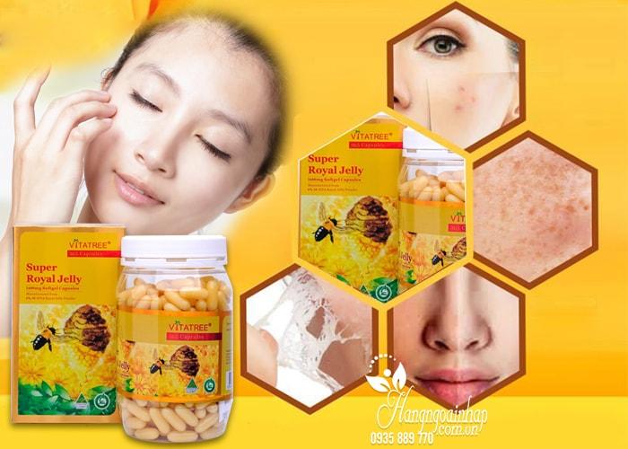 Sữa ong chúa Vitatree Super Royal Jelly 1600mg hộp 365 viên