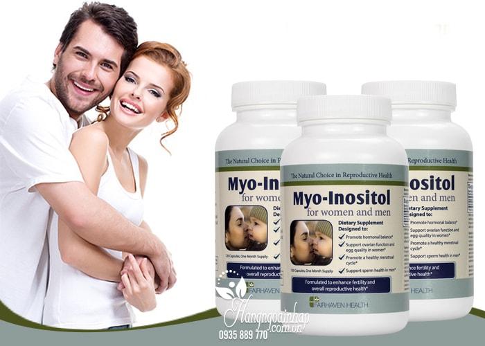 Viên uống điều trị đa nang buồng trứng Myo-Inositol 120 viên của Mỹ