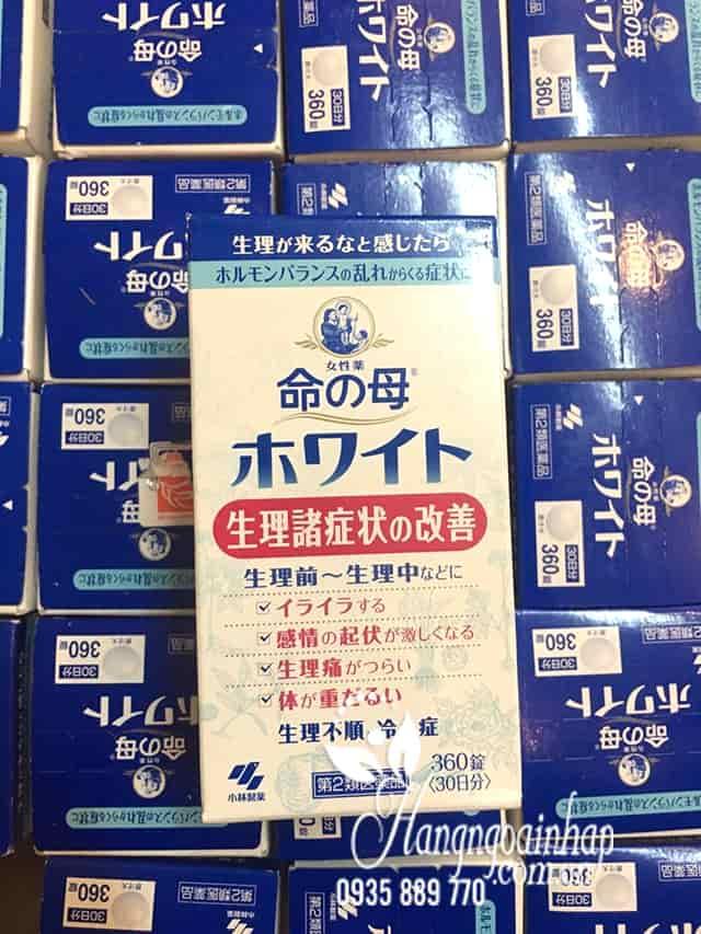 Viên uống điều hòa kinh nguyệt Kobayashi 360 viên của Nhật tại Hàng Ngoại Nhập