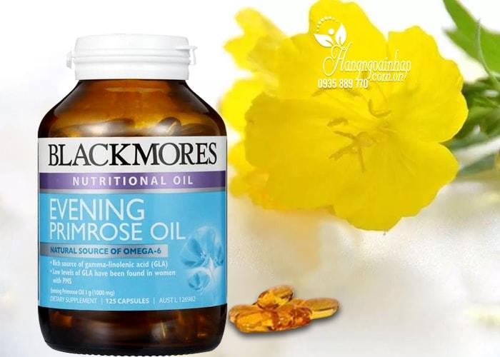 Tinh dầu hoa anh thảo Blackmores Evening Primrose Oil 125 viên