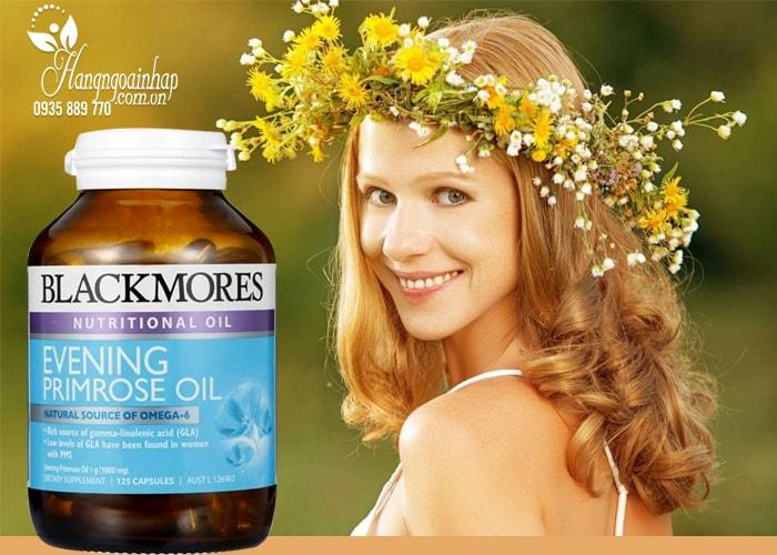 Viên uống tinh dầu hoa anh thảo Blackmores Evening Primrose Oil 125 viên